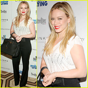 Hilary Duff Creates The Invention Of Lying