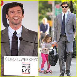 Hugh Jackman Kicks Off Climate Week NYC