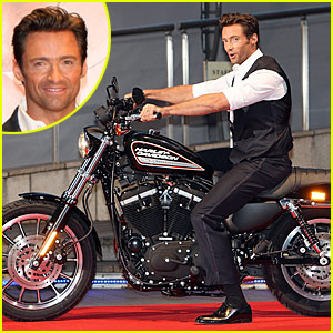 Hugh Jackman: Motorcycle Man