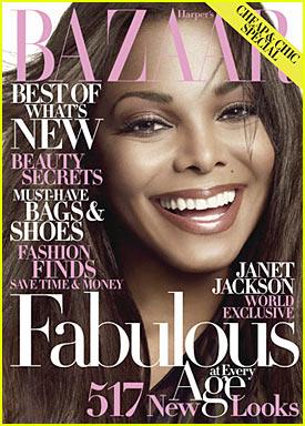 Janet Jackson Covers Harper's Bazaar