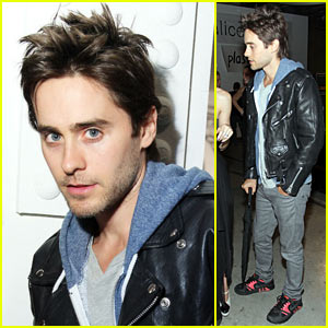 Jared Leto Meets Just Jared