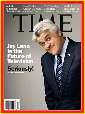 Jay Leno Covers Time Magazine