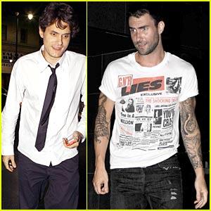 John Mayer & Adam Levine: Katsuya Cravings