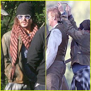 Johnny Depp: Music Video Director!