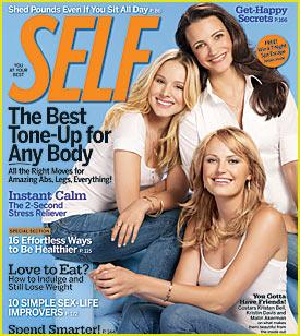 Kristen Bell Covers Self Magazine October 2009