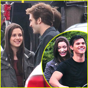 Kristen Stewart & Robert Pattinson: Lots of Laughs