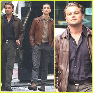 Leo DiCaprio & Joseph Gordon-Levitt Love Leather