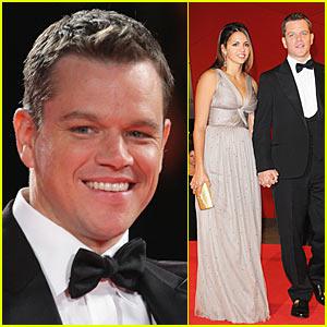 Matt Damon Premieres 'The Informant!' In Venice