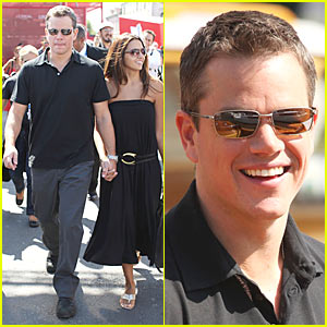 Matt Damon Brings 'The Informant!' to Venice!