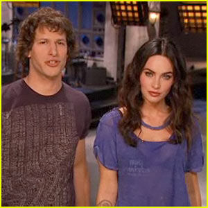 Andy Samberg to Megan Fox: Keep Your Boob in Your Pants