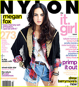 Megan Fox Covers Nylon Magazine