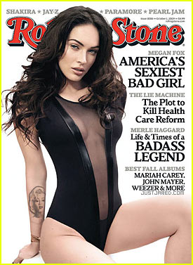 Megan Fox Covers 'Rolling Stone' October 2009