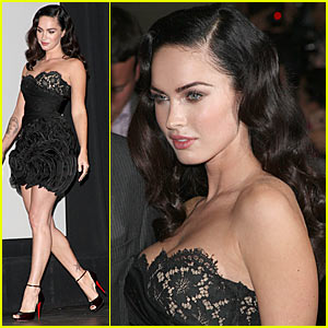 Megan Fox Ruffles Up Toronto Film Festival