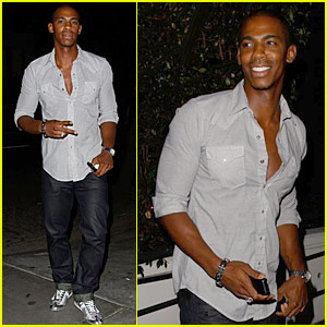Mehcad Brooks Goes Off 'The Deep End'