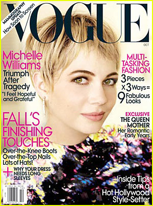 Michelle Williams Covers 'Vogue' October 2009