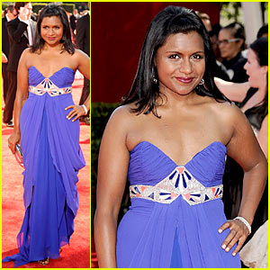 Mindy Kaling - Emmy Awards 2009