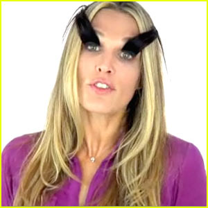 Molly Sims Spoofs Eyelash Commercial