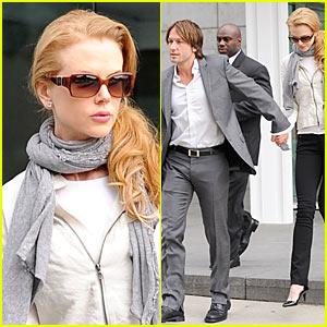 Nicole Kidman & Keith Urban are Hands On