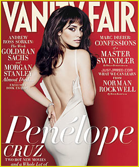 Penelope Cruz Covers 'Vanity Fair' November 2009