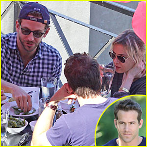 Bradley Cooper & Renee Zellweger's Date With Ryan Reynolds