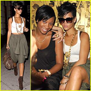 Rihanna: 1Love for 1Oak