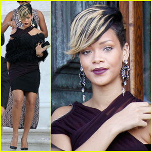 Rihanna is Vivacious In Venice
