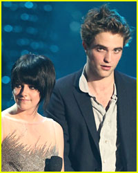 Rob and Kristen: Cozy Backstage at The VMAs