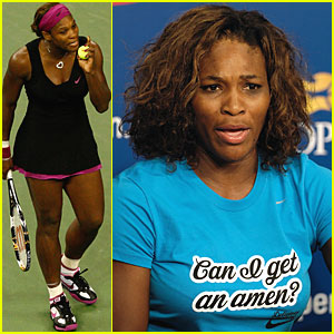 Serena Williams Makes a Racket at U.S. Open
