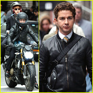 Shia LaBeouf & Carey Mulligan are Bike Buddies