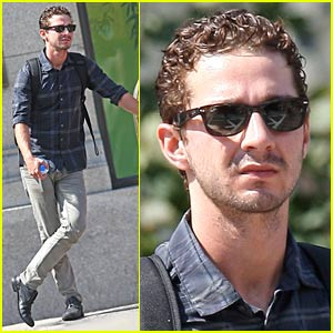 Shia LaBeouf Sans Carey Mulligan