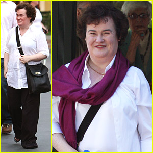 Susan Boyle Gets Mobbed In L.A.