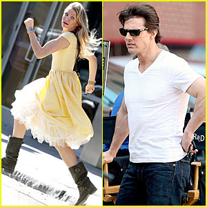 Tom Cruise & Cameron Diaz: Boston Bunch