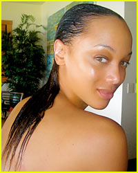 Tyra Banks is Fierce Without Her Weave