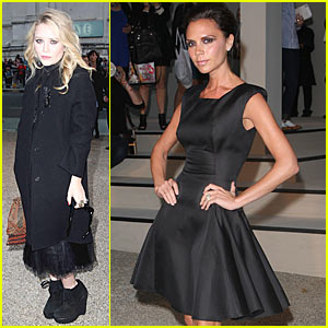 Victoria Beckham & Mary-Kate: Burberry Bash