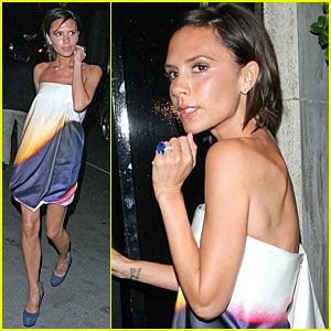 Victoria Beckham Celebrates London Fashion Week