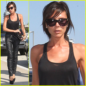 Victoria Beckham Loves The LA Galaxy