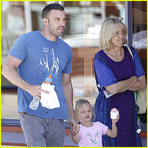 Ben Affleck: Violet is Sprinkles Sweet