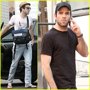 Zachary Quinto: Prius Person