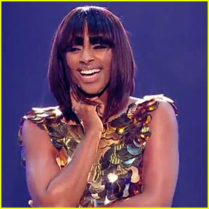 Alexandra Burke Performs 'Bad Boys' on 'X Factor'