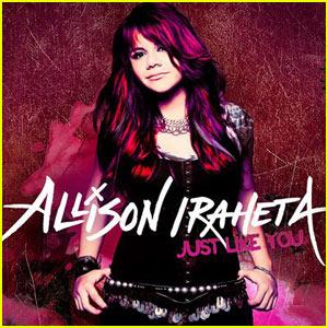Allison Iraheta: 'Just Like You' Album Cover!
