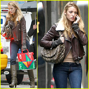 Blake Lively: Halloween Fun with Penn Badgley