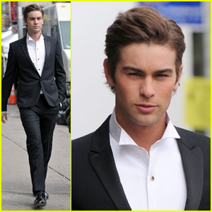 Chace Crawford is a Clean Cut Cat