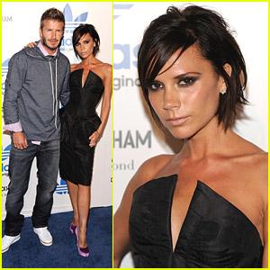 David & Victoria Beckham Adore Adidas