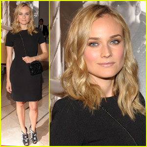 Diane Kruger Honors Quentin Tarantino
