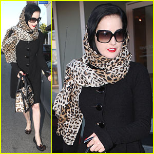 Dita Von Teese Sitting This Halloween Out
