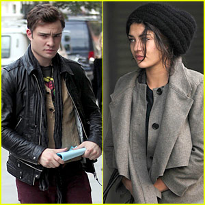 Ed Westwick & Jessica Szohr: Apartment Therapy