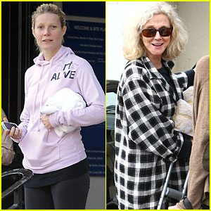 Gwyneth Paltrow & Blythe Danner: London & L.A. Ladies