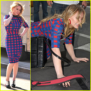 Hilary Duff Falls In Love