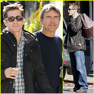 Jake Gyllenhaal: Father-Son Time!