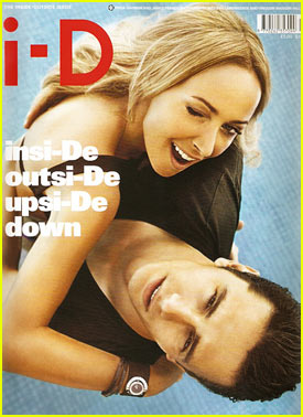 James Franco & Frida Giannini Cover i-D Magazine